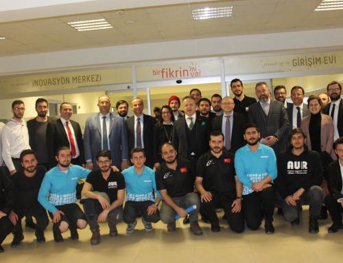 TİM Başkanı İsmail Gülle ATA Teknokent'te Kurulan Erzurum TİM-TEB Girişim Evi'ni Ziyaret Etti